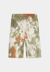 Nike Sportswear - Shorts - medium olive/medium olive/(white) - 4
