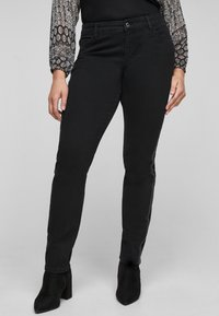 Triangle - Slim fit jeans - black