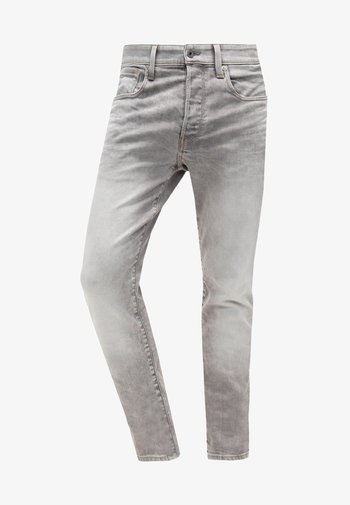 3301 TAPERED - Jeans Tapered Fit - kamden grey stretch denim