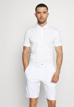 MATTR SNACK SHACK - Poloshirt - bright white/placid blue