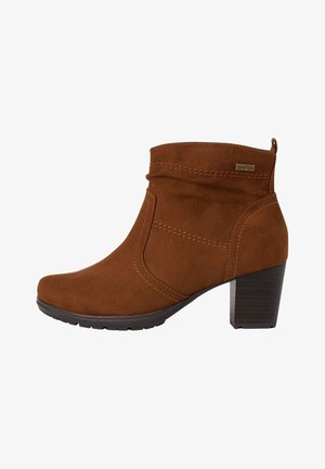 STIEFELETTE - Ankle boots - chestnut