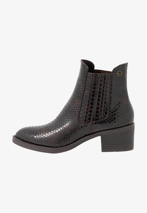 Classic ankle boots - mahogany