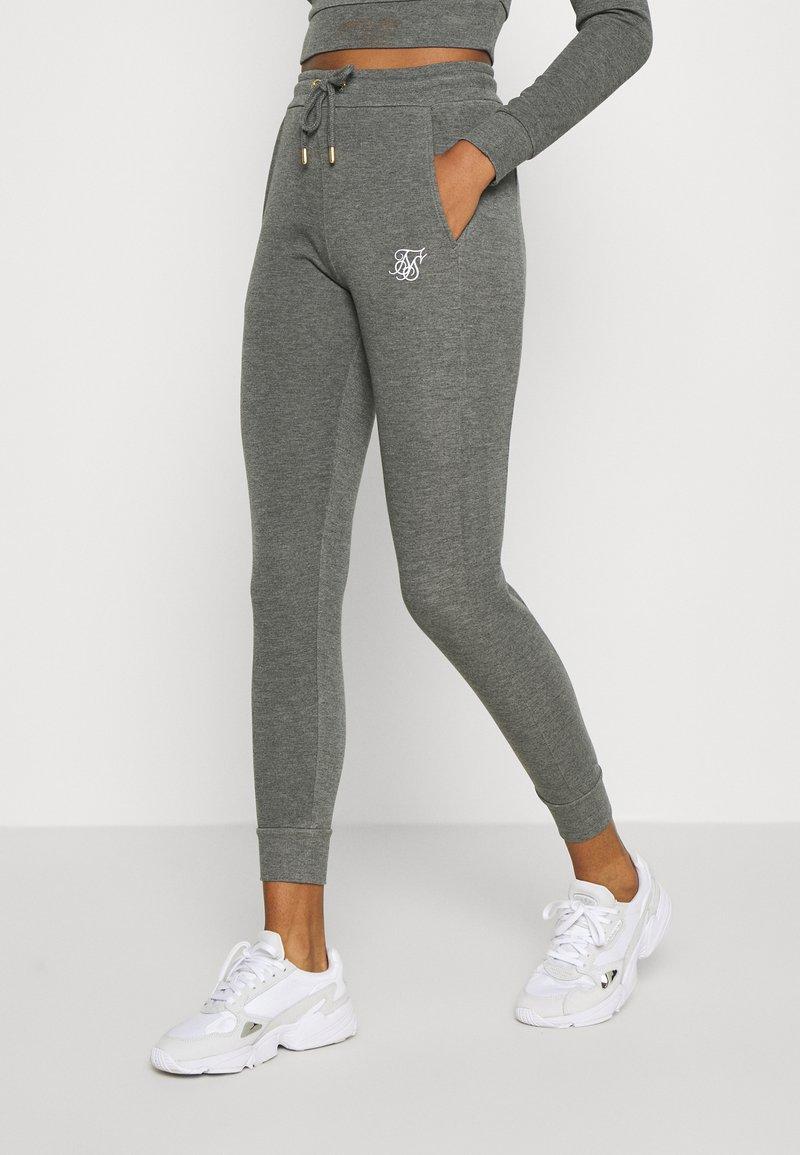 SIKSILK - SIGNATURE TRACK PANTS - Tracksuit bottoms - dark grey