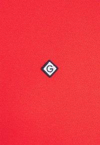 GANT - POLO DRESS - Sukienka letnia - lava red - 2
