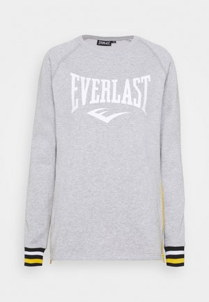 Sweatshirt - grey/white