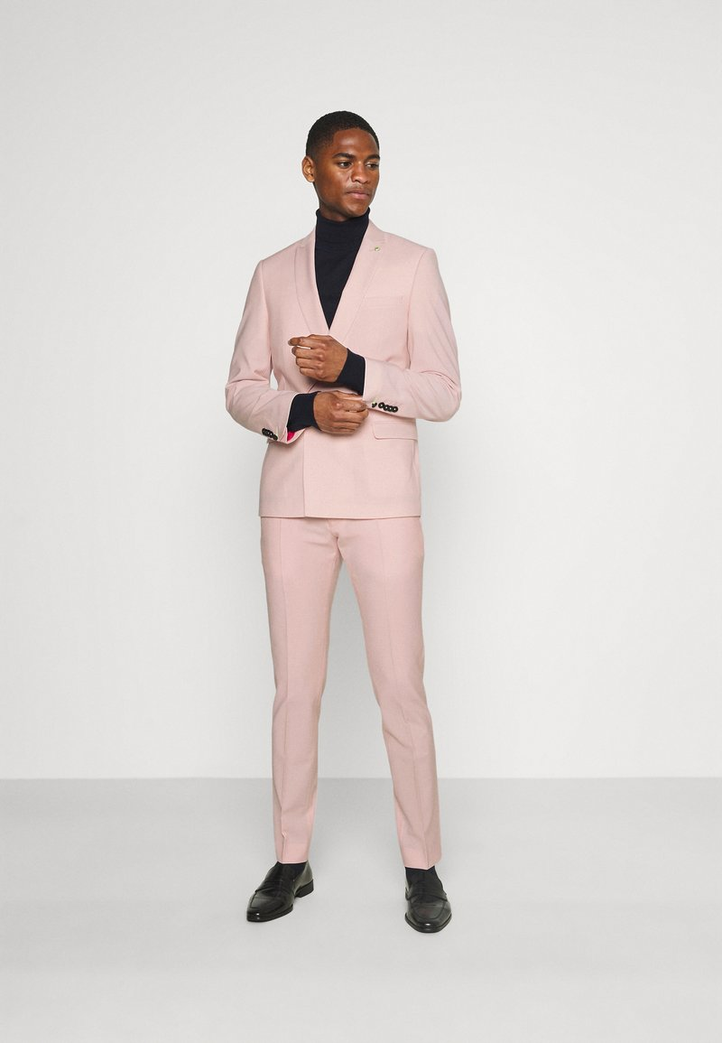 Twisted Tailor - SALSBURY SUIT - Kostym - pale dogwood