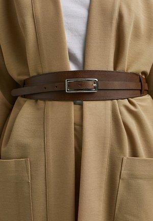 Waist belt - rust brown