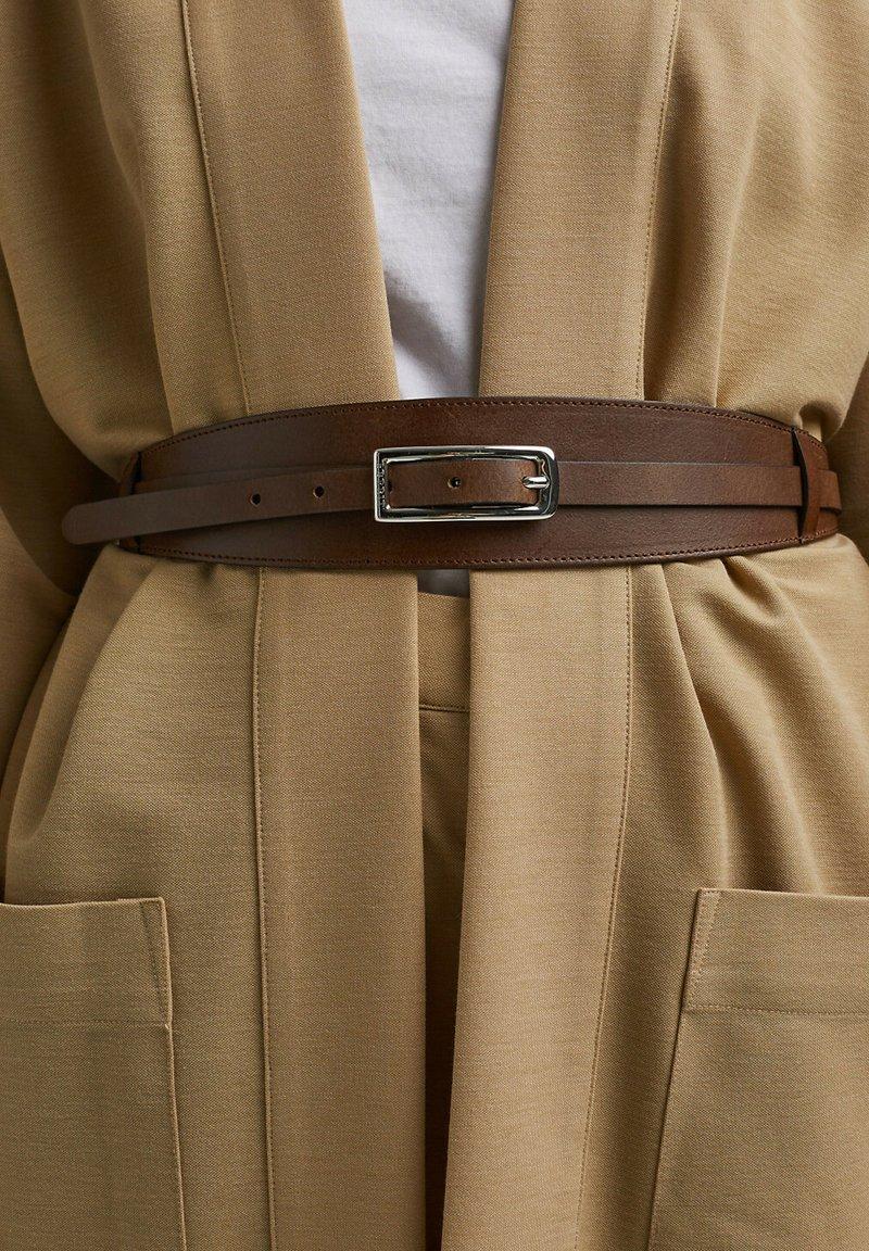 Esprit - Waist belt - rust brown