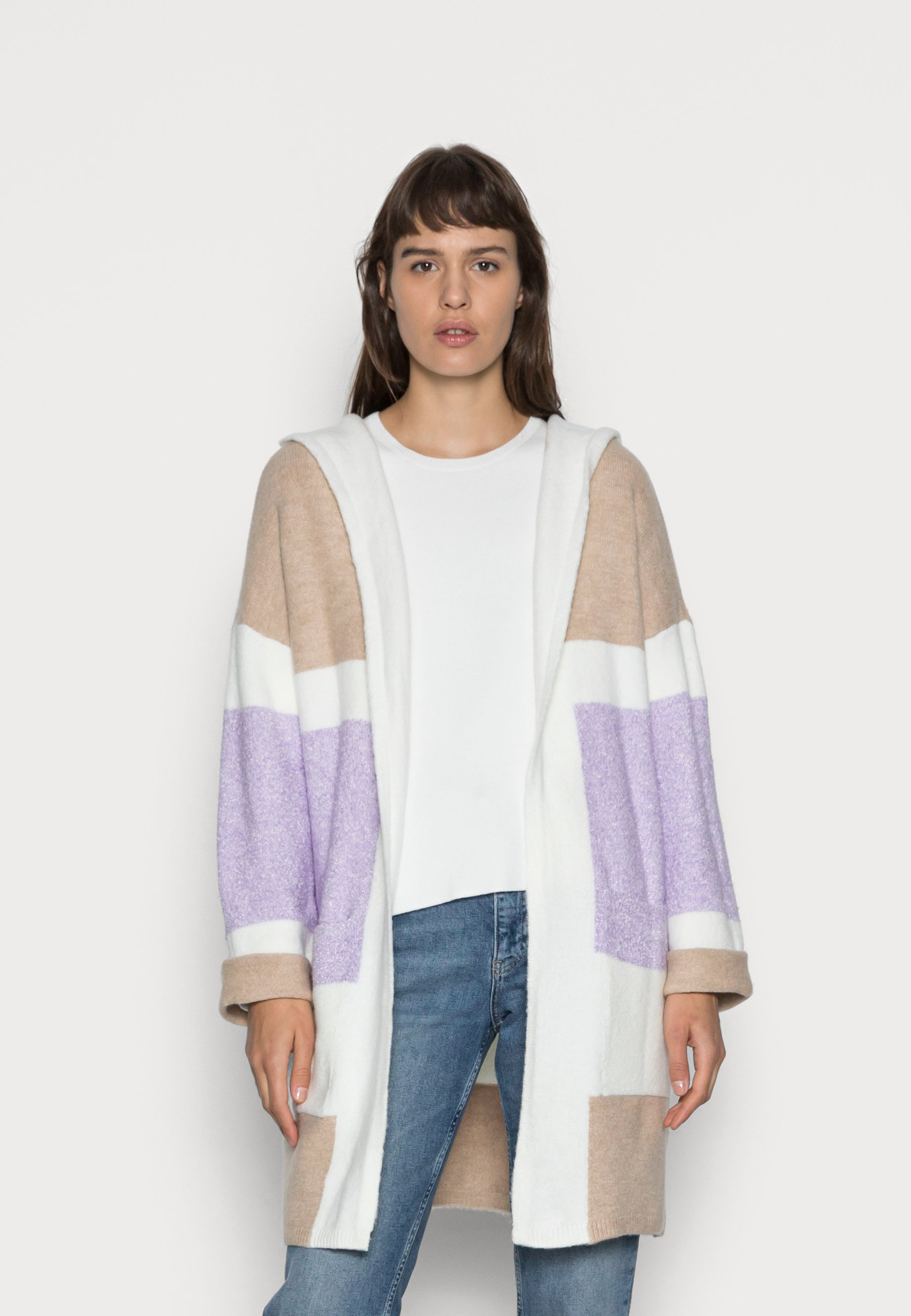Donna HOODED - Cardigan
