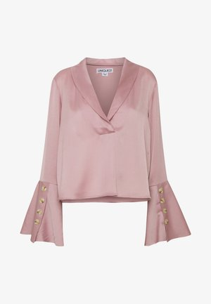 LUXE BUTTON SLEEVE BLOUSE - Camicetta - lilac