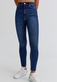 PULL&BEAR - Jeans Skinny Fit - dark blue - 0