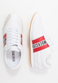 Bikkembergs - BARTHEL - Trainers - white/red - 1