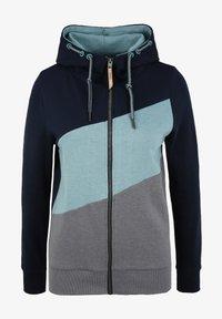 Oxmo - AGGI - Zip-up hoodie - insignia blue - 5