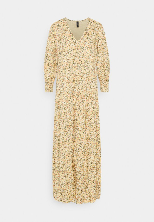 YASLAGI 3/4 ANKLE DRESS - Maxi dress - humus