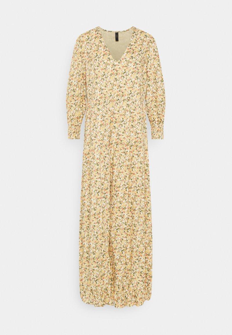 YAS - YASLAGI 3/4 ANKLE DRESS - Maxi dress - humus
