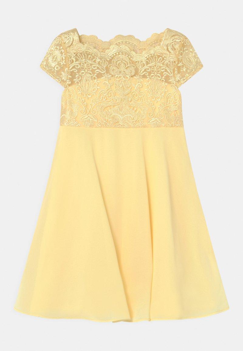 Chi Chi Girls - GEORGINA DRESS - Koktejlové šaty/ šaty na párty - lemon