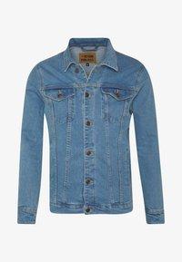 KASH JACKET - Denim jacket - blue