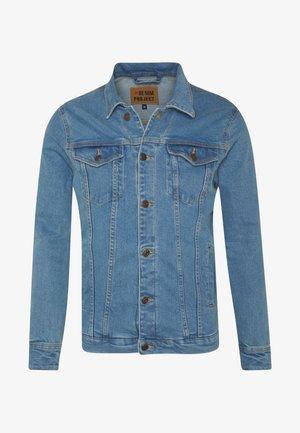 KASH JACKET - Džínová bunda - blue