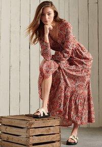 Superdry - BOHEMIAN - Maxi dress - red print - 2