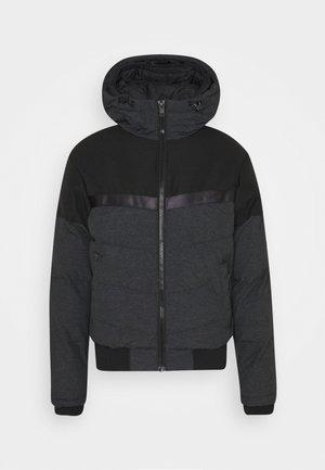 JCOCHARLES HOODED - Winter jacket - black