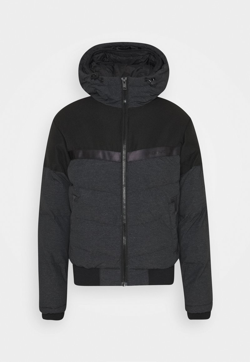 Jack & Jones JCOCHARLES HOODED - Winterjacke - black/schwarz JbkqCz