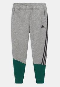 adidas Performance - WINTER SET - Chándal - collegiate green/medium grey heather/black - 2
