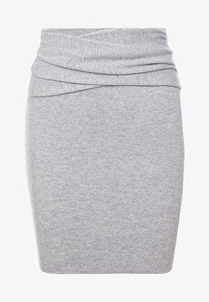 DUNBAR - Pencil skirt - mixed grey
