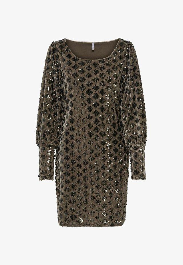 Sukienka koktajlowa - brownie