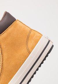 Converse - CHUCK TAYLOR ALL STAR BOOTS ON MARS - Sneaker high - wheat/pale wheat/birch bark - 2