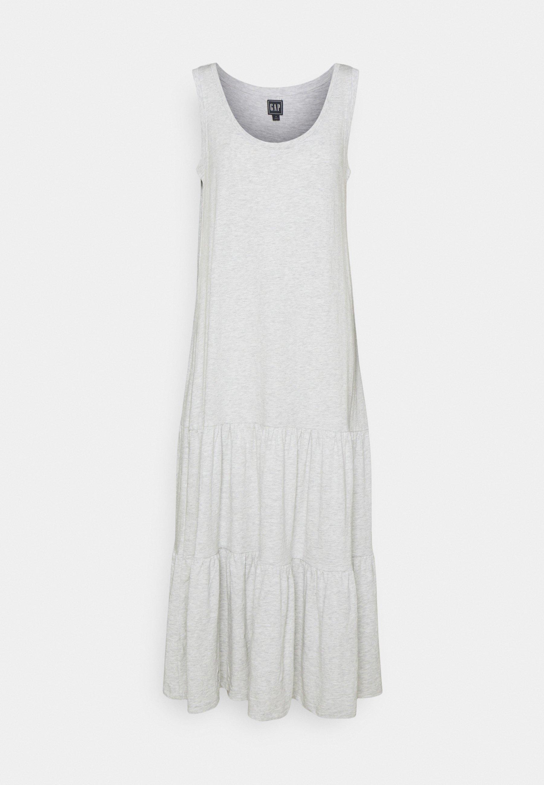 Women TIERED MAXI - Jersey dress