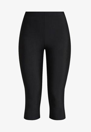 SHAPING CAPRI - Leggings - Stockings - black