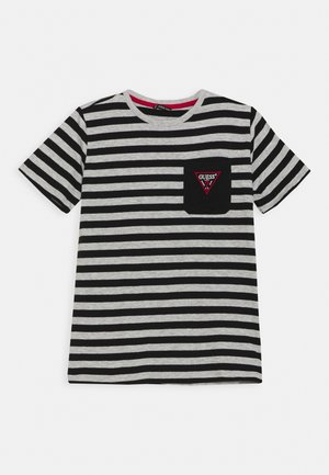 JUNIOR - T-shirt imprimé - black/grey