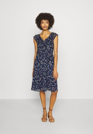 Day dress - eclipse blue