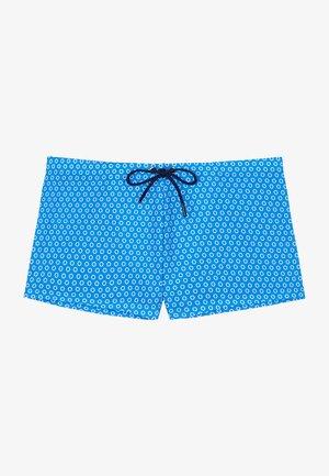 LOURMARIN - Swimming trunks - blue print