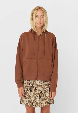 MIT KAPUZE - Zip-up hoodie - dark brown