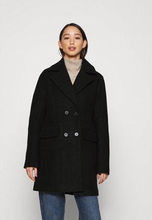 AIMEE - Classic coat - black