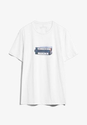 JAAMES VHS - T-shirt print - white