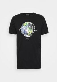 CLOSURE London - EARTH TEE - T-shirt imprimé - black - 5
