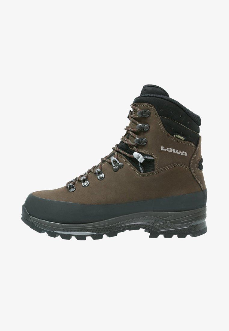 Lowa - TIBET GTX WXL - Mountain shoes - sepia/schwarz