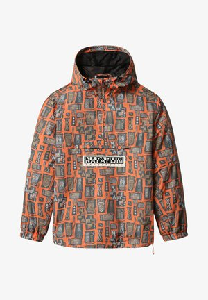 RAINFOREST NAPALI - Windbreaker - orange mask