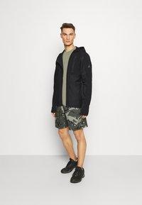 adidas Performance - TRAINING HOODED TRACKSUIT JACKET - Zip-up hoodie - black - 1