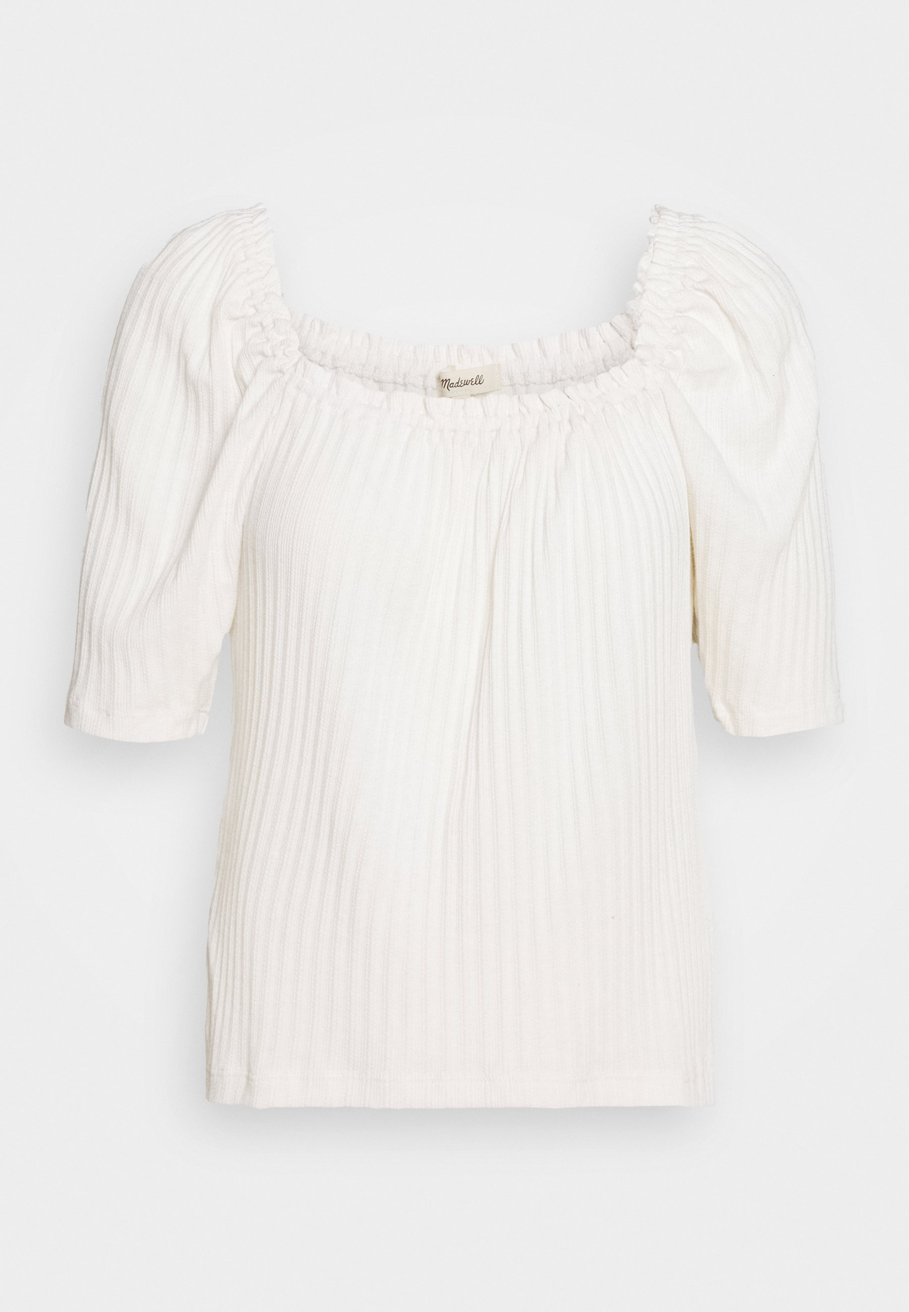 Madewell Café Cluny - T-shirts Med Print Pearl Ivory/beige