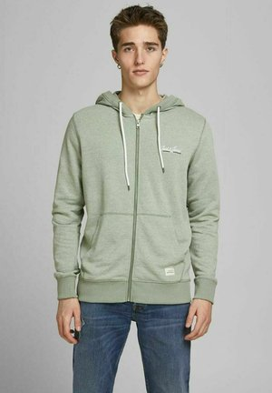 Zip-up hoodie - sea spray