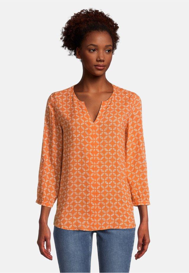 MIT MUSTER - Blouse - orange