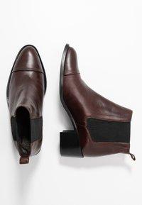 Bianco - Ankle boots - dark brown - 3