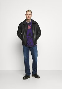 Diesel - LARKEE-X - Straight leg jeans - dark blue - 1