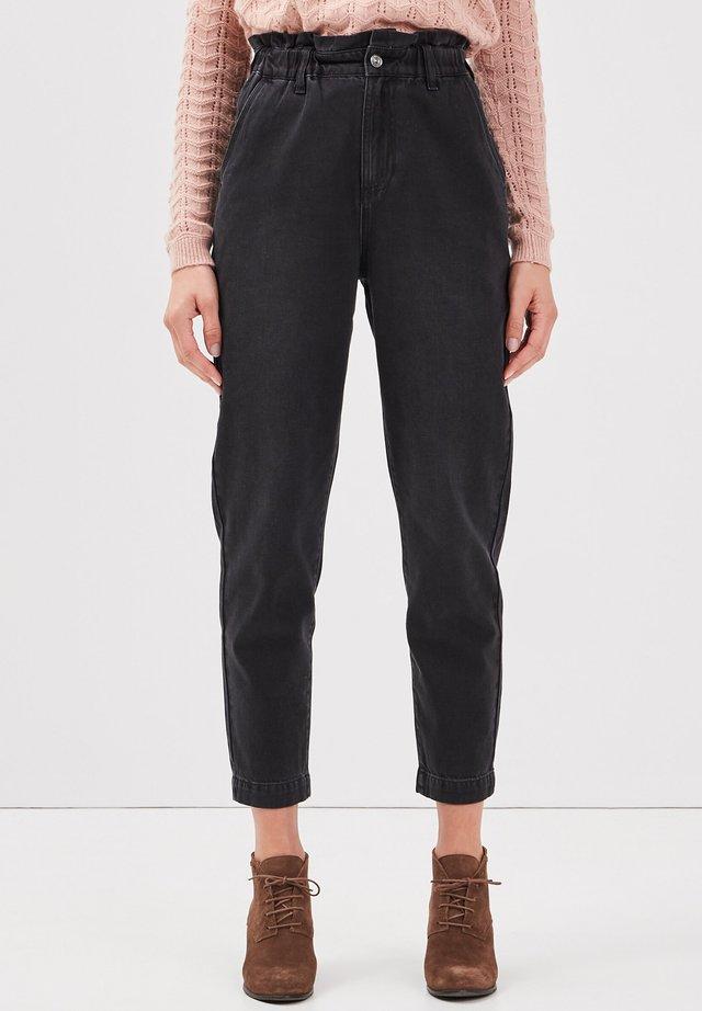 Jeans baggy - denim noir