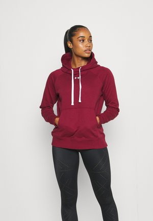 RIVAL HOODIE - Jersey con capucha - red