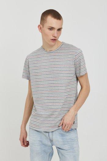 TEE - T-shirt med print - stone mix
