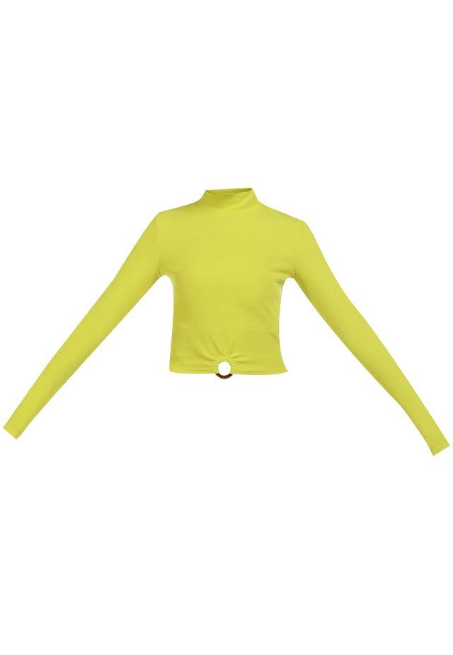 Blouse - neon gelb